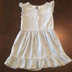 Girl's GAP Denim Dress